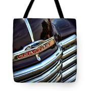 1953 Chevy Pickup Grille Tote Bag