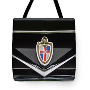 1953 Lincoln Capri Derham Coupe Emblem Tote Bag