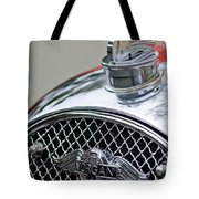 1953 Morgan Plus 4 Le Mans Tt Special Hood Ornament        Tote Bag