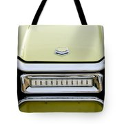 1954 Ford Thunderbird Taillight Emblem Tote Bag