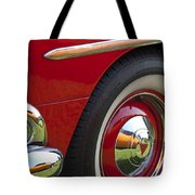 1954 Hudson Hornet Wheel And Emblem Tote Bag