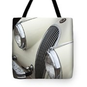 1954 Jaguar Xk120 Roadster Grille Tote Bag