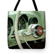 1954 Kaiser Darrin Steering Wheel Tote Bag