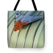 1954 Pontiac Chieftain Hood Ornament Tote Bag