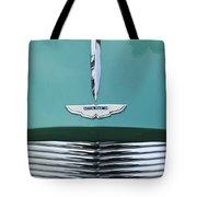 1955 Aston Martin Grille Emblem Tote Bag