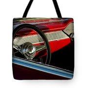 1955 Chevrolet 210 Steering Wheel Tote Bag