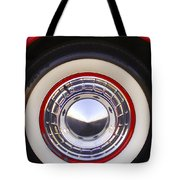 1955 Chevrolet Nomad Wheel Tote Bag