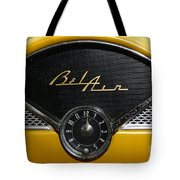 1955 Chevy Belair Clockface Tote Bag