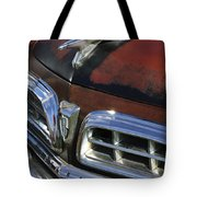 1955 Chrysler Hood Ornament Tote Bag