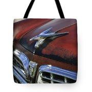1955 Chrysler Windsor Deluxe Hood Ornament Tote Bag