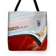 1955 Ford Fairlane Crown Victoria Emblem Tote Bag
