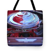 1955 Ford Thunderbird Engine Tote Bag