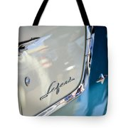 1955 Pontiac Safari Station Wagon Emblem Tote Bag