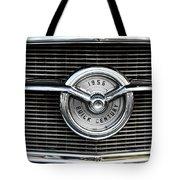 1956 Buick Century Grill Emblem Tote Bag