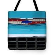 1956 Chevrolet Belair Nomad Grille Emblem Tote Bag