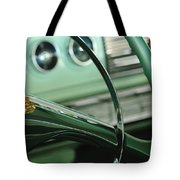 1956 Dodge Coronet Steering Wheel Tote Bag