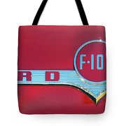1956 Ford F100 Tote Bag