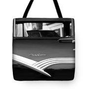 1956 Ford Fairlane Club Sedan Tote Bag