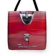 1956 Ford Fairlane Hood Ornament 7 Tote Bag