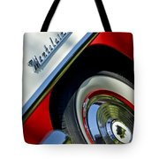 1956 Mercury Montclair Wheel Emblem Tote Bag