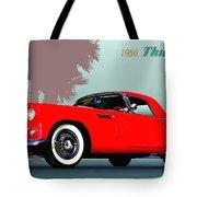 1956 Thunderbird Tote Bag