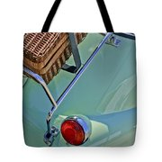 1957 Bmw Isetta 300 Motocoupe Taillight Tote Bag