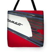 1957 Chevrolet Cameo Pickup Emblem Tote Bag