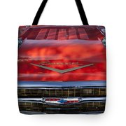 1957 Chevrolet Grille 2 Tote Bag