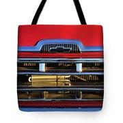 1957 Chevrolet Pickup Truck Grille Emblem Tote Bag
