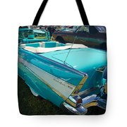 1957 Chevy Convertable Tote Bag