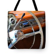 1957 Chevy Dash Tote Bag