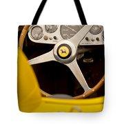1957 Ferrari 500 Trc Scaglietti Spyder Steering Wheel Tote Bag