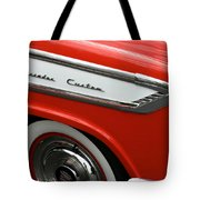 1957 Nash Ambassador Custom Tote Bag