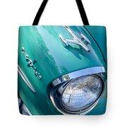 1957 Oldsmobile 98 Starfire Convertible Fender Spear Tote Bag