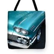 1958 Chevy Belair Front End 01 Tote Bag