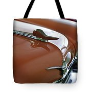 1958 Chrysler Imperial Hood Ornament Tote Bag
