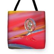 1958 Edsel Roundup Hood Ornament Tote Bag