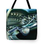 1958 Oldsmobile 98 Steering Wheel Tote Bag