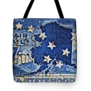 1959 Alaska Statehood Stamp Tote Bag