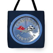 1959 Chevrolet Corvette Emblem Tote Bag