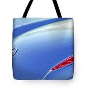 1959 Chevrolet Corvette Taillight Emblem Tote Bag
