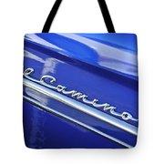 1959 Chevrolet El Camino Emblem Tote Bag