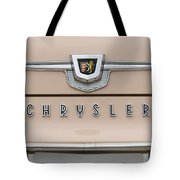 1959 Chrysler New Yorker Emblem Tote Bag