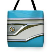 1959 Edsel Corvair Side Emblem Tote Bag
