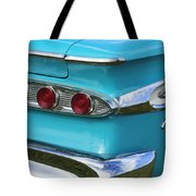 1959 Edsel Corvair Taillights Tote Bag