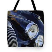 1959 Jaguar S Roadster Headlights Tote Bag