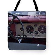 1959 Jaguar S Roadster Steering Wheel Tote Bag