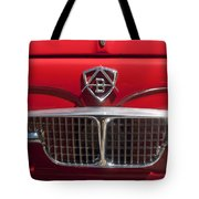 1960 Autobianchi Bianchina Transformabile Coupe Hood Emblem Tote Bag