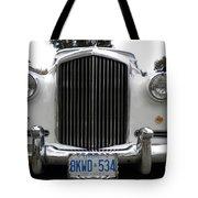 1960 Bentley Front Tote Bag
