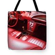 1960 Chevrolet Corvette Interior Tote Bag